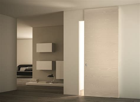 porte interne scorrevoli esterno muro porte interne in legno a battente scorrevoli rasomuro