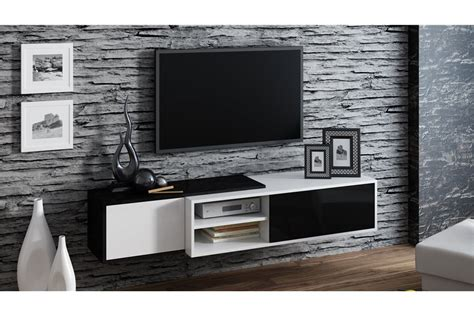 banc tv suspendu meuble tv suspendu ligna design
