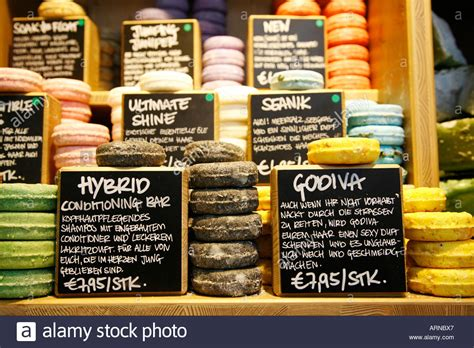 Handmade Soap Shop - soap shop handmade soaps stock photo royalty free image