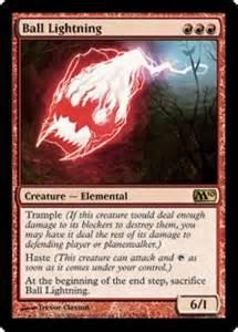Lightning Magic Card Lightning Magic 2010 Gatherer Magic The Gathering