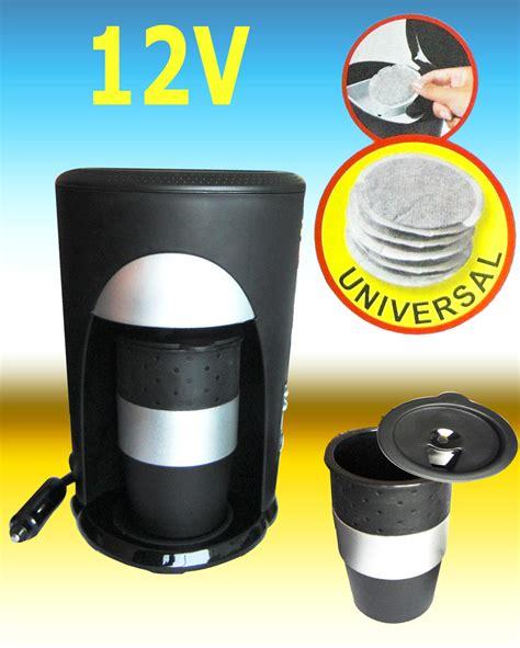 Auto Kaffeemaschine kaffeebecher auto kaffeemaschine reise pads cing 12v