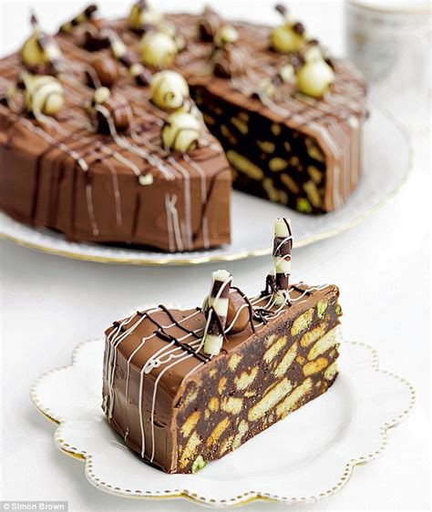 biscuit cake recipes fit for a prince or two chocolate biscuit cake daily mail online