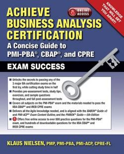 poise how to attain it classic reprint books achieve business analysis certification the complete