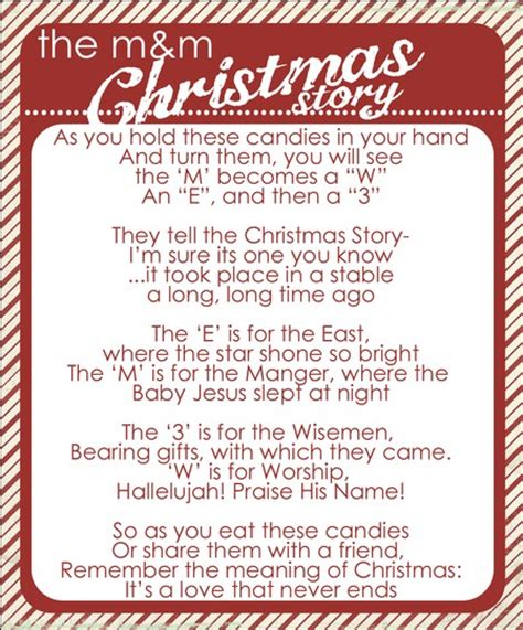 printable a christmas story christmas rubies in my treasure box the m m christmas story