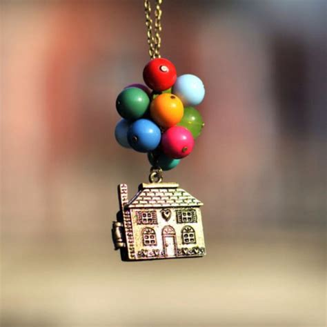 Up Chairs Pixar Jewels Up Disney Necklace Pixar Balloons House
