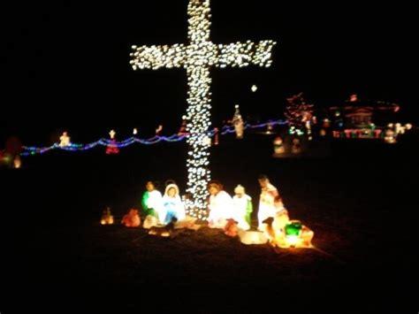nativity scene christmas lights christmas light