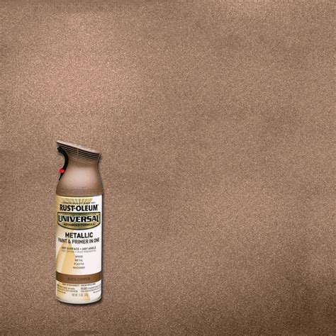 home depot spray paint age rust oleum universal 11 oz all surface metallic gold