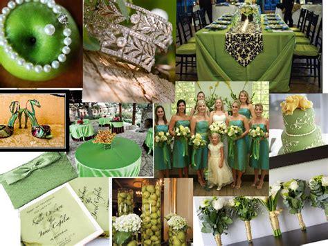 green wedding theme pantone wedding styleboard the dessy