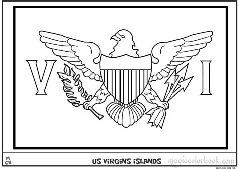 printablecoloringpages us us islands flag coloring pages free