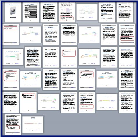 participant workbook template mastering mind maps for business customizable