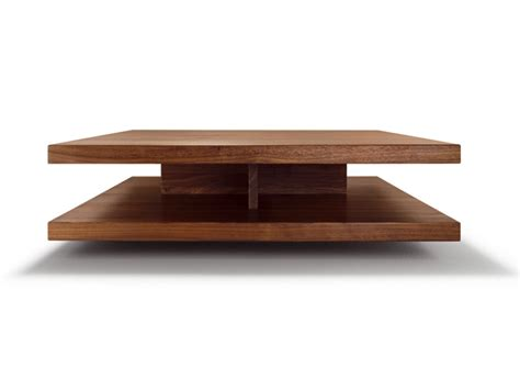 Low Coffee Table Wood Low Square Wooden Coffee Table C3 By Team 7 Nat 220 Rlich Wohnen Design Sebastian Desch
