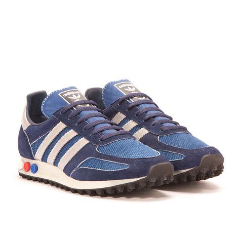 adidas la trainer og adidas la trainer og dark navy silver aq4930