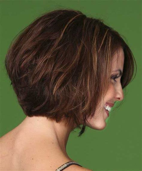 front and back views of womens hair cuts 35 short stacked bob hairstyles short hairstyles 2016