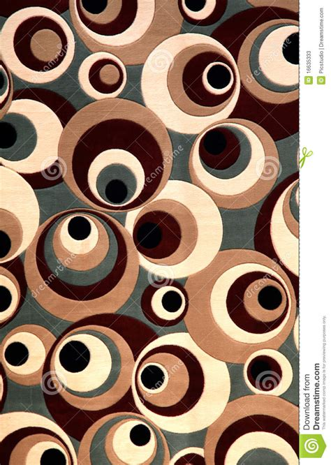 Circular Floor Plans by Carpet Design Stock Image Image Of Texture Round