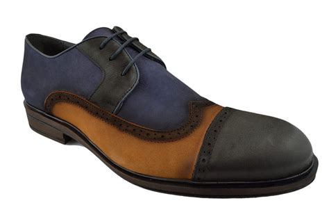 brown wingtip oxford mens shoes 230 nukte blue black brown leather wingtip cap toe dress