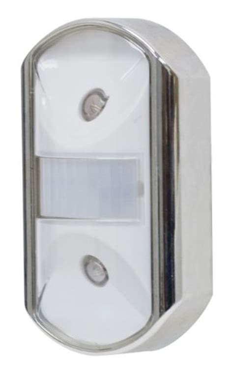 ge 29844 ultra brite motion activated led light silver ge motion activated led night light chrome 014445257660
