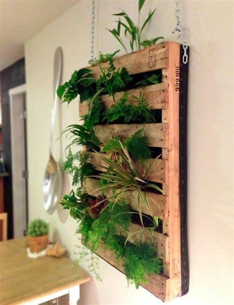 pflanzenwand selber machen vertikalen garten selber bauen projekte f 252 rs haus