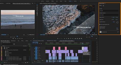 New Features Summary For The July And April 2018 Releases Of Adobe Premiere Pro Cc Premiere Pro Photo Template