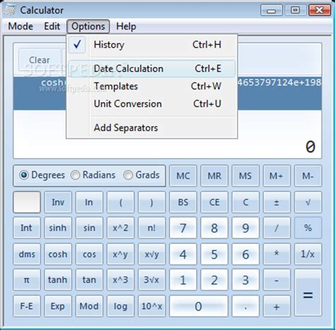 calculator for windows download windows7 calculator