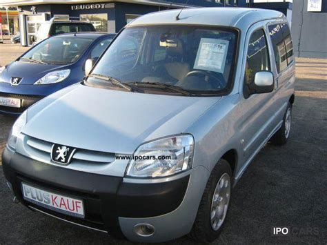 peugeot partner 2007 2007 peugeot partner tepee hdi 90 car photo and specs