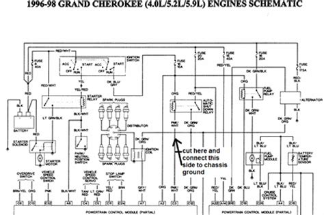 1996 jeep ecm wiring diagrams wiring diagram