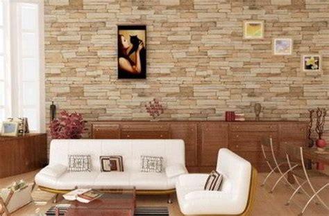 desain keramik dinding ruang tamu interior rumah