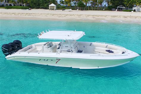 midnight express boat seven marine speed boat charters by 7 marine sxm to caribbean islands