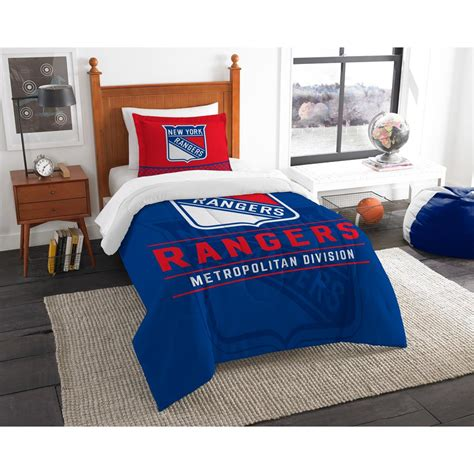 polyester comforter reviews nhl ny rangers draft 2 piece multi color polyester twin
