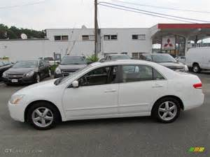 taffeta white 2004 honda accord ex sedan exterior photo