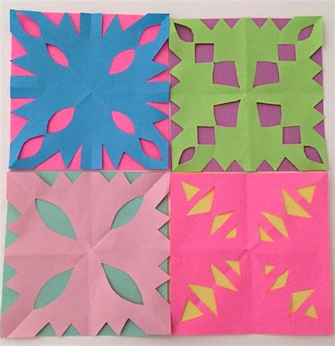 How To Make Snowflakes With Construction Paper - paper snowflakes how to make paper snowflakes roseart