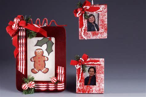 christmas candy frame favecrafts com