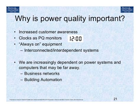 Why Mba Is Important For Engineers by Ieee Power Quality Distribution Systems