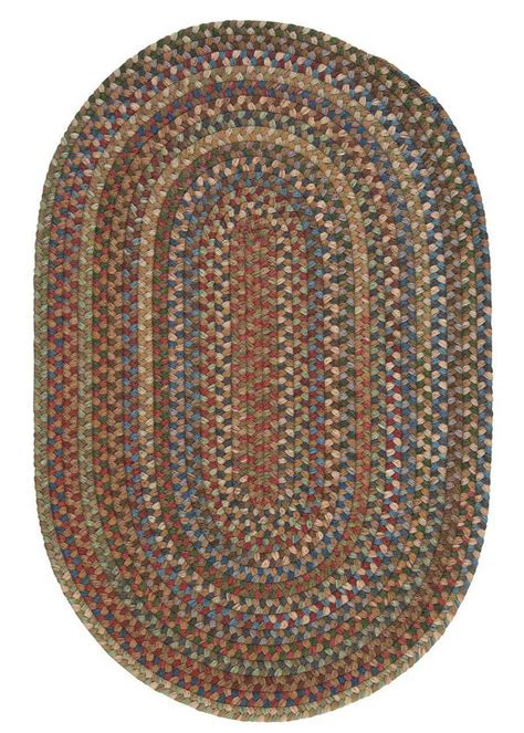 Braided Throw Rugs by Oak Harbour Colonial Mills Braided Area Rugs