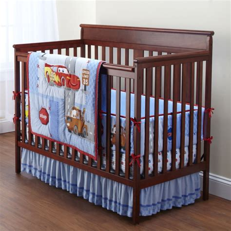 Car Crib Bedding Set Disney Cars Crib Bedding Set Home Furniture Design