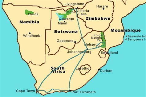 africa map falls picking the right safari operator wings