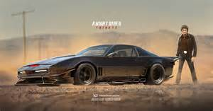 new rider car rider kitt car gets a futuristic makeover with