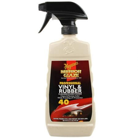 meguiars vinyl  rubber cleaner  conditioner   oz  shipping