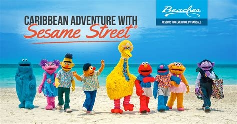 Kids' Sesame Street Caribbean Adventure Vacation   Beaches