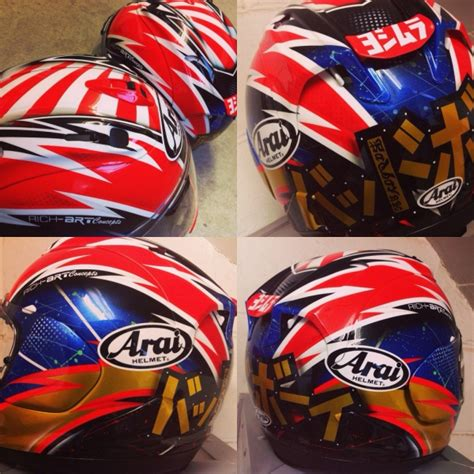 Helm Arai Replika arai replica race helmets