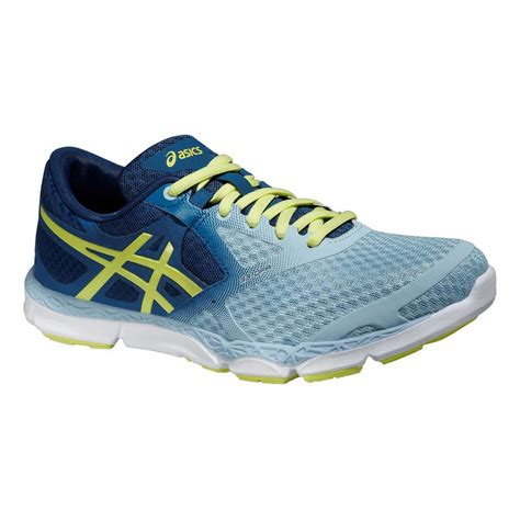 blue running shoes womens asics womens 33 dfa running shoes blue fitnessnuts