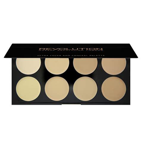 Palette Concealer Paket Kuasspons makeup revolution concealer palette ultra cover and conceal palette light limited edition