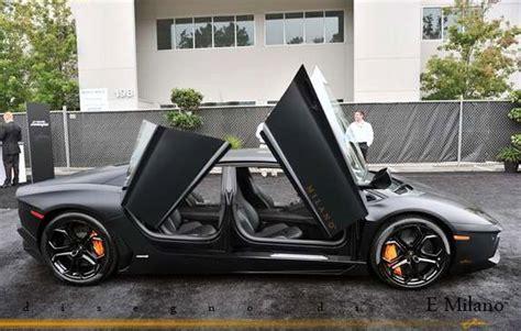 Will there be a 4 door Lamborghini Aventador?
