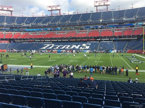 section 132 f nissan stadium section 132 tennessee titans