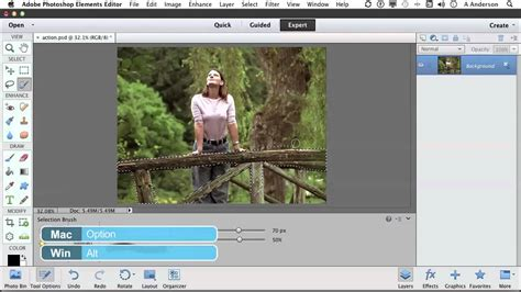 tutorial adobe photoshop elements 11 photoshop elements 11 tutorial painting a selection with