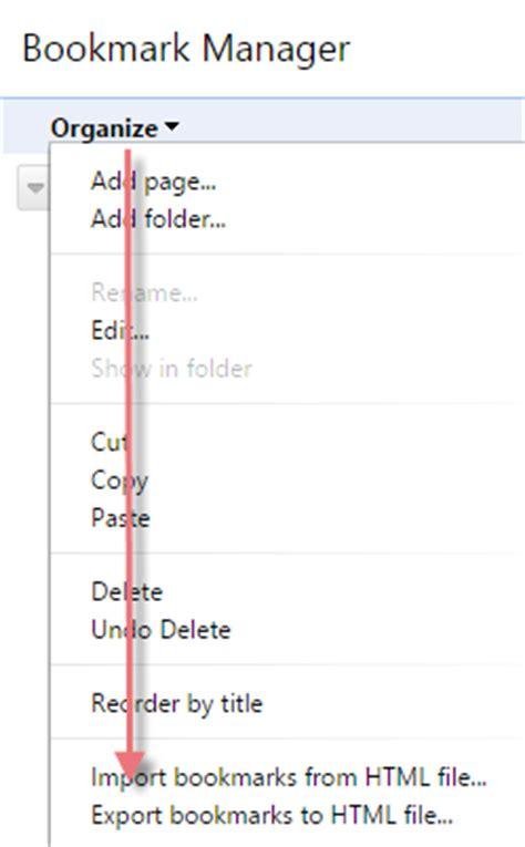 export google chrome bookmarks to an html file ว ธ การ export import bookmark google chrome windowssiam