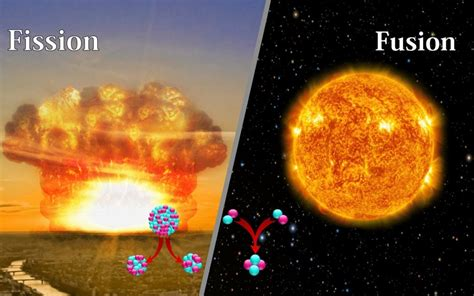 Fission Vs Fusion What S The Difference Between Nuclear Fusion And Nuclear