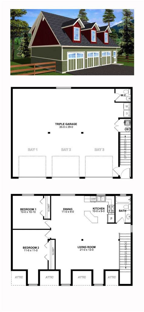 one garage apartment floor plans 56 best garage apartment plans images on