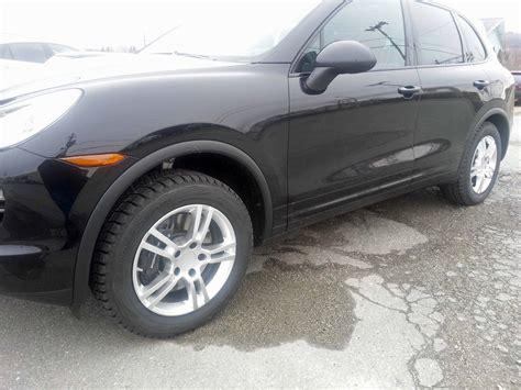 porsche cayenne winter tires winter wheels and tires from 21 in to 18 in rennlist