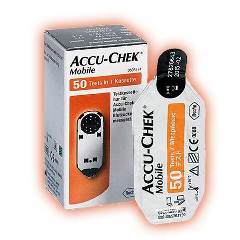 accu chek mobile test cassette 50 strips accu chek mobile testcassette 50 strips kopen goedkoop snel