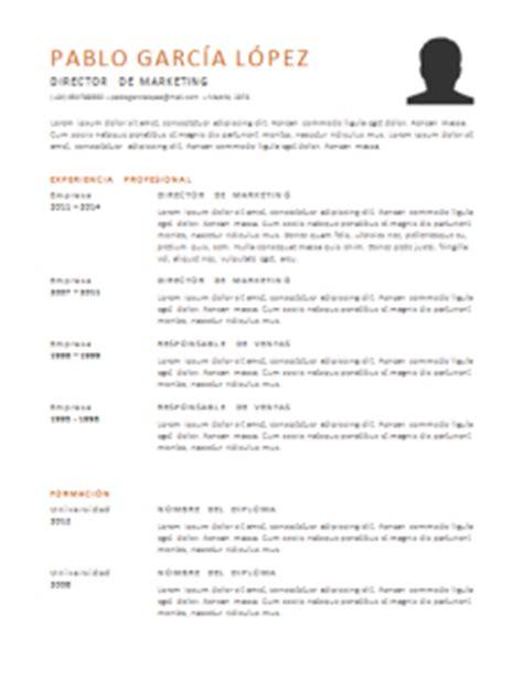 Plantilla De Un Curriculum Funcional Curriculum Vitae Funcional 21 Plantillas Para Descargar Gratis